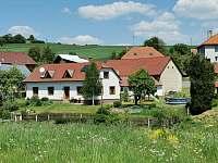 Pohled na dům - chalupa k pronájmu Prosetín u Bystřice nad Perštejnem