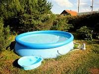 bazének - chalupa k pronájmu Sádek u Poličky