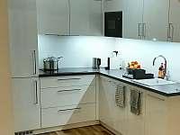 Kuchyň - pronájem apartmánu Studnice