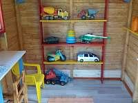 dětský domek - chata k pronájmu Čejov