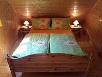 ložnice 2 - pronájem chaty Čejov