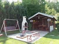 venkovní posezení - chata ubytování Čejov