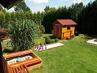 zahrada - pronájem chaty Čejov