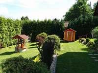 zahrada - chata k pronajmutí Čejov