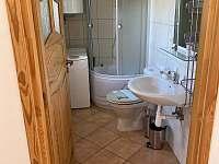 pohled do koupelny - chalupa k pronájmu Seč - Proseč