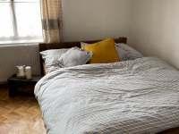 Ložnice s manželskou postelí č.2 - chalupa k pronajmutí Těmice