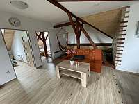 Obývací pokoj - apartmán k pronajmutí Nová Cerekev - Částkovice