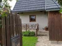 Vstup na zahradu - chalupa ubytování Svratouch