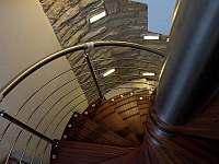 Točité schodiště - Hroubovice