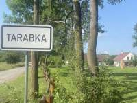 Příjezd z lesní cesty směr od obce Nasavrky - chalupa k pronajmutí Kameničky