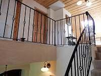 Harusova chalupa schodiště