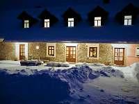 Harusova chalupa v zimě - Radňovice