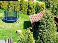 Zahrada krb a trampolína