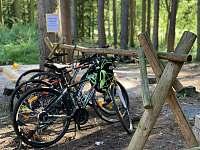 cyklisté vítáni - chata k pronájmu Rejčkov