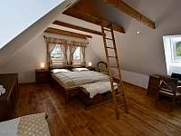 Ložnice 1. patro na levé straně - Moravské Křižánky