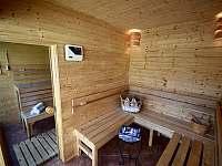 Sauna s odpočívarnou - Moravské Křižánky
