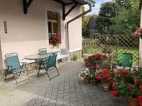 Zahrada - chalupa ubytování Trnava