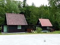 Chata 1 + chata 2 - k pronájmu Polesí u Počátek