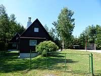 Chata 1 - vstup - ubytování Polesí u Počátek