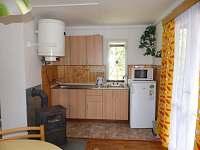 Kuchyňský kout- chata 1 + chata 2 - Polesí u Počátek