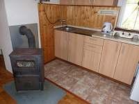 Kuchyňský kout - chata 1 + chata 2 - Polesí u Počátek