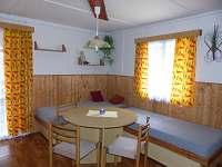 Obývací pokoj - chata 1 + chata 2 - Polesí u Počátek