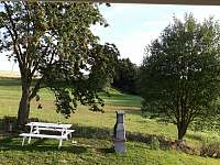 Přírodní stín - chata ubytování Oudoleň