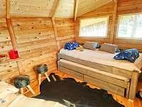 Treehouse Stvořidla - srub ubytování Leštinka - 5