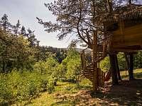 Treehouse Stvořidla - srub ubytování Leštinka