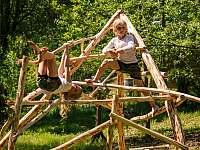 Treehouse Stvořidla - zahrada - Leštinka