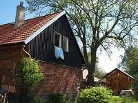 Chalupa Klokočov - Ze zahrady - ubytování Klokočov