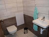 záchod patro - chalupa k pronájmu Pivonice u Bystřice nad Pernštejnem