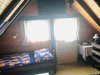 ložnice, chata Velké Dářko - k pronájmu Škrdlovice - Polnička