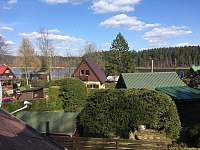 pohled z ložnice, chata Velké Dářko - Škrdlovice - Polnička