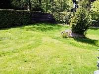 Pohled z terasy, chata Velké Dářko - ubytování Škrdlovice - Polnička