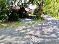 Příjezdová cesta chata Velké Dářko - k pronájmu Škrdlovice - Polnička
