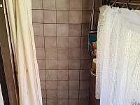 sprchový kout, chata Velké Dářko - Škrdlovice - Polnička