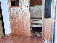 Sauna - vila k pronajmutí Chlum
