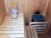 Sauna - vila k pronájmu Chlum