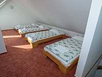 Apartmán č. 5 - ložnice v podkroví
