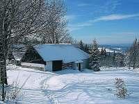 zima, pohled od SZ