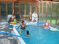 Bazén je vytápěný