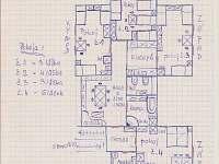 Plánek ubytování