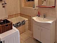 druhá koupelna - chalupa k pronajmutí Želiv