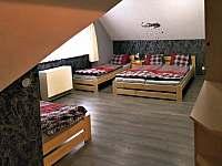 druhá ložnice - pronájem chalupy Želiv