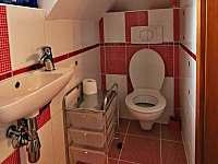 WC - chalupa k pronájmu Želiv