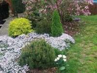 zahrada kolem objektu - chalupa ubytování Želiv