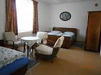 ložnice A - chalupa k pronájmu Nížkov