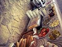 Možnost dokoupení snídaně - chalupa k pronajmutí Kuklík