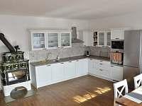 kuchyň - chalupa ubytování Rozseč
